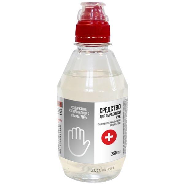 Теком средство для обработки рук с антибактериальным эффектом лосьон фл. 250мл