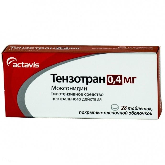 Тензотран таб. п.п.о. 0,4мг n28