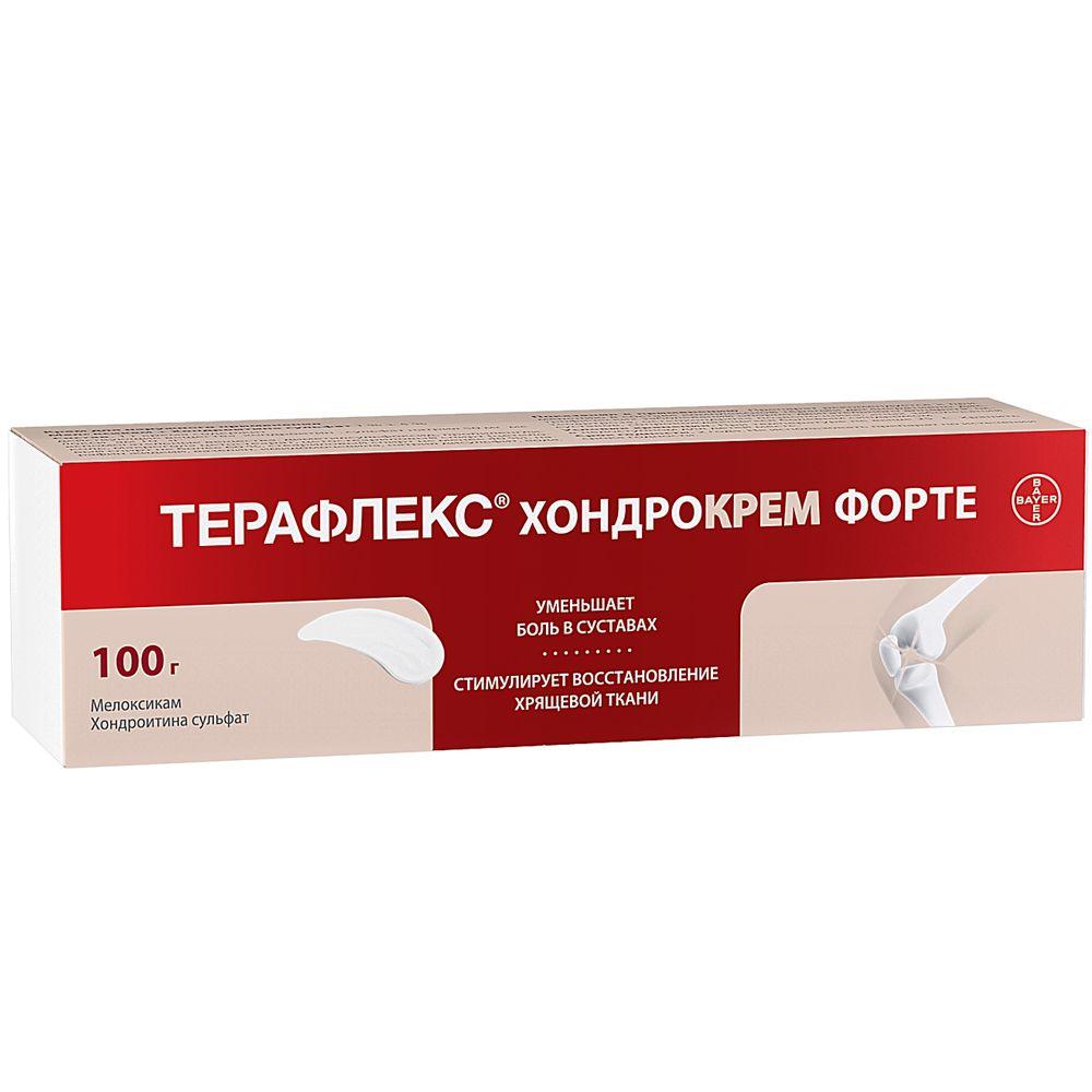 Терафлекс хондрокрем форте крем д/наруж. прим. 1%+5% туба 100г
