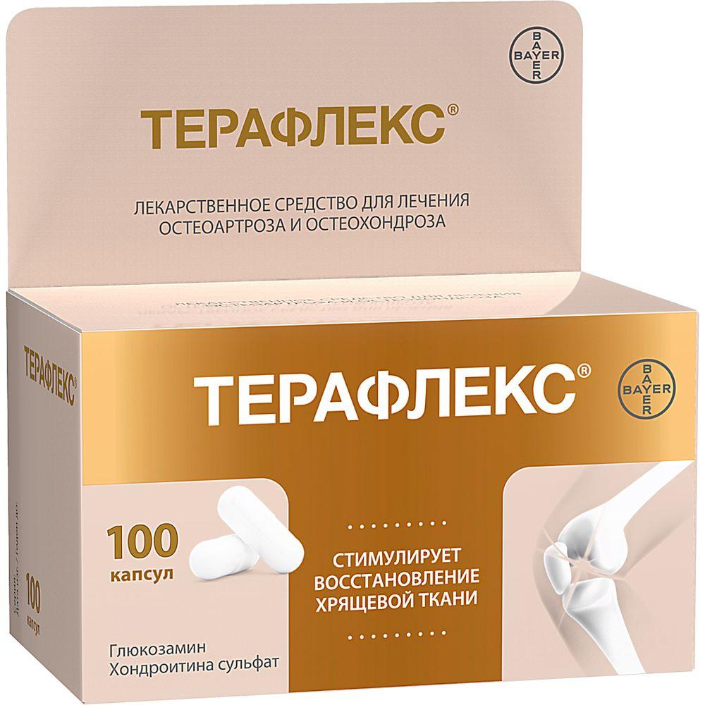 Терафлекс капс. 400мг+500мг n100