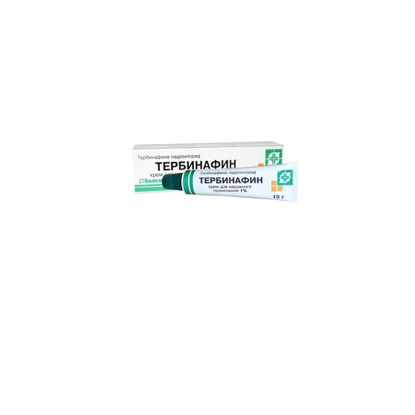 Тербинафин крем д/нар. прим. 1% туба 15г