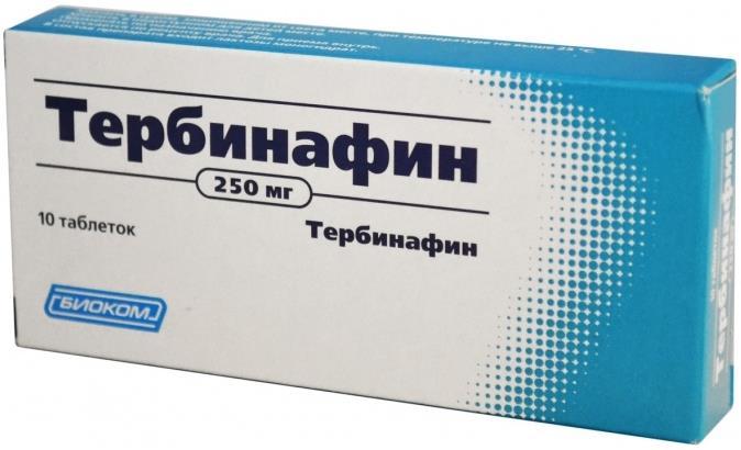 Тербинафин таблетки 250мг №10 Биоком