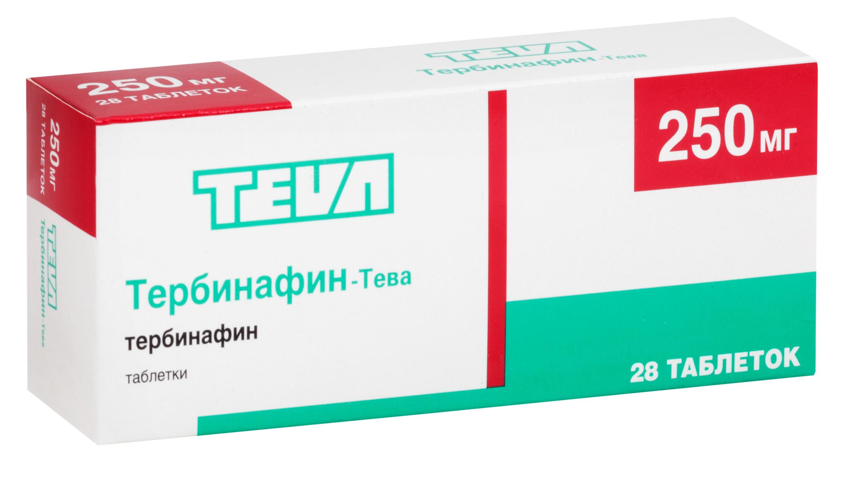 Тербинафин-Тева таб. 250мг n28