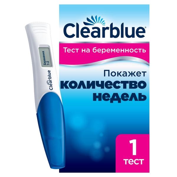 Тест на беременность Clearblue/клиаблу цифровой с индикатором срока беременности
