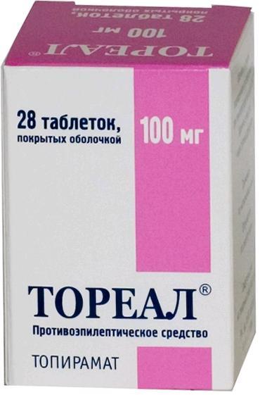 Тореал таб. п.о 100мг n28