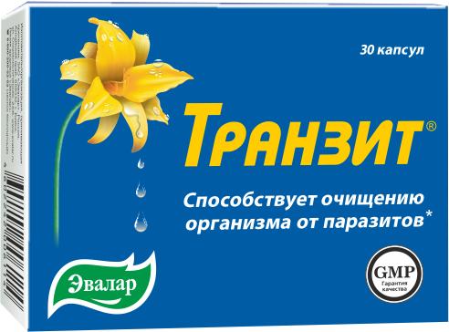 Транзит капс. по 0,42г №30 (бад)