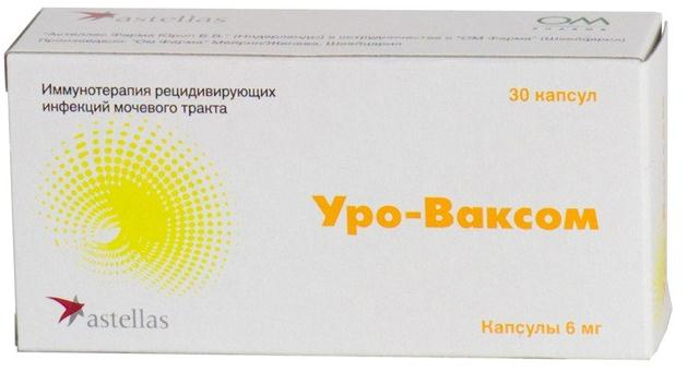 Уро-ваксом капс. 6мг n30