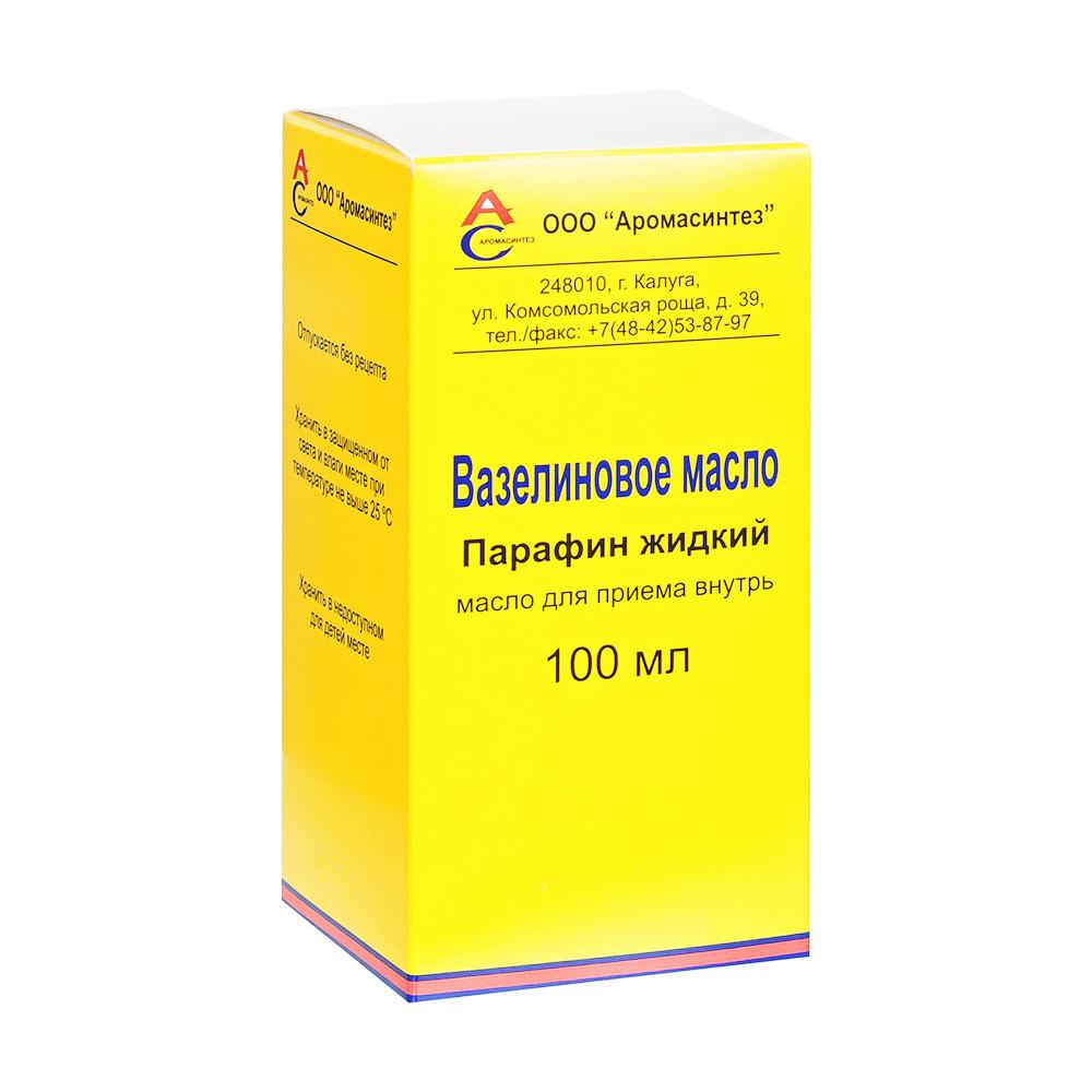 Вазелиновое масло д/приема внутрь фл. 100мл №1 Аромасинтез