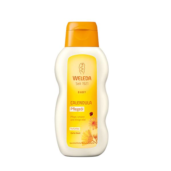 Веледа масло с календулой для младенцев без запаха фл. 200мл (8820)