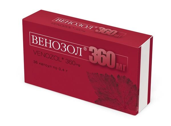 Венозол 360 капс. n36