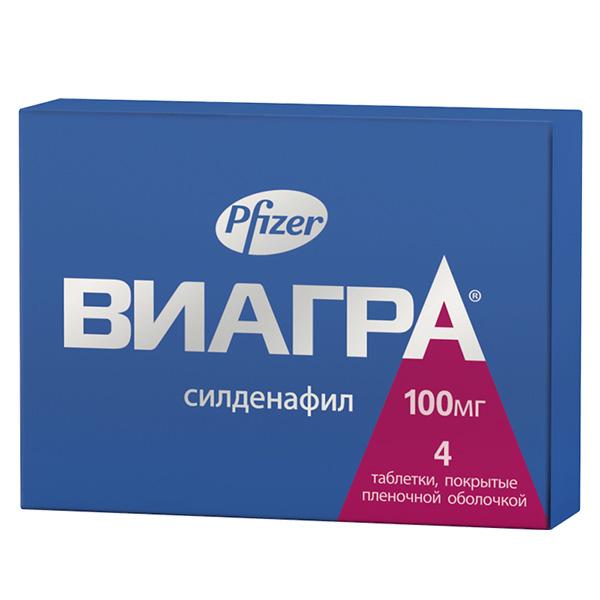 Виагра таб. п.п.о. 100мг n4