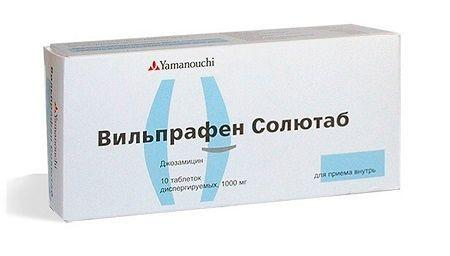 Вильпрафен солютаб таб. дисперг. 1г n10