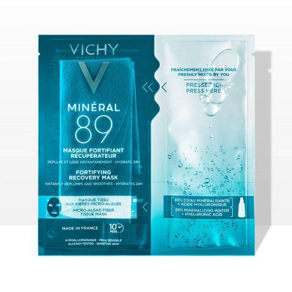 Виши минерал 89 экспресс-маска на тканевой основе из микроводорослей д/интенс. увлаж. и укреп.барьера кожи 29г №1 (mb237600)