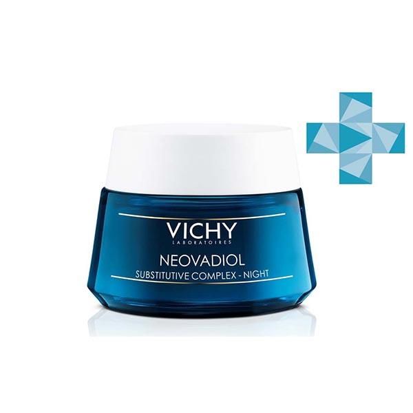 Виши неовадиол компенсирующий комплекс ночной уход для кожи в период менопаузы 50мл (m9067100)