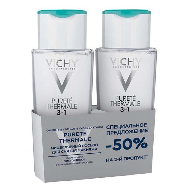Виши пюртэ термаль мицеллярный лосьон набор из 2-х продуктов со скидкой -50% на второй продукт (vru03045)