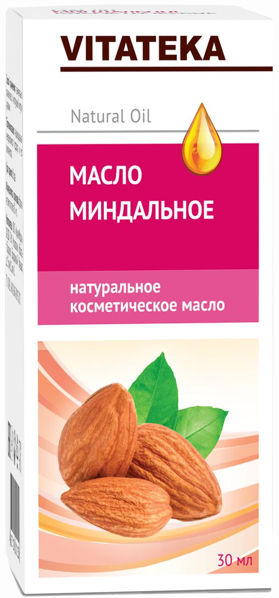 Витатека масло миндальное косметическое с витаминно-антиоксидантным комплексом 30 мл