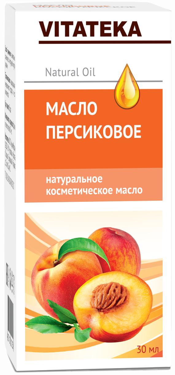 Витатека масло персиковое косметическое с витаминно-антиоксидантным комплексом 30 мл