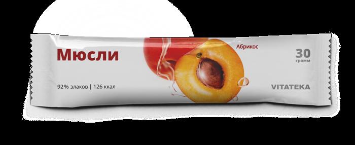 Витатека мюсли батончик абрикосовый 30 г (бад)