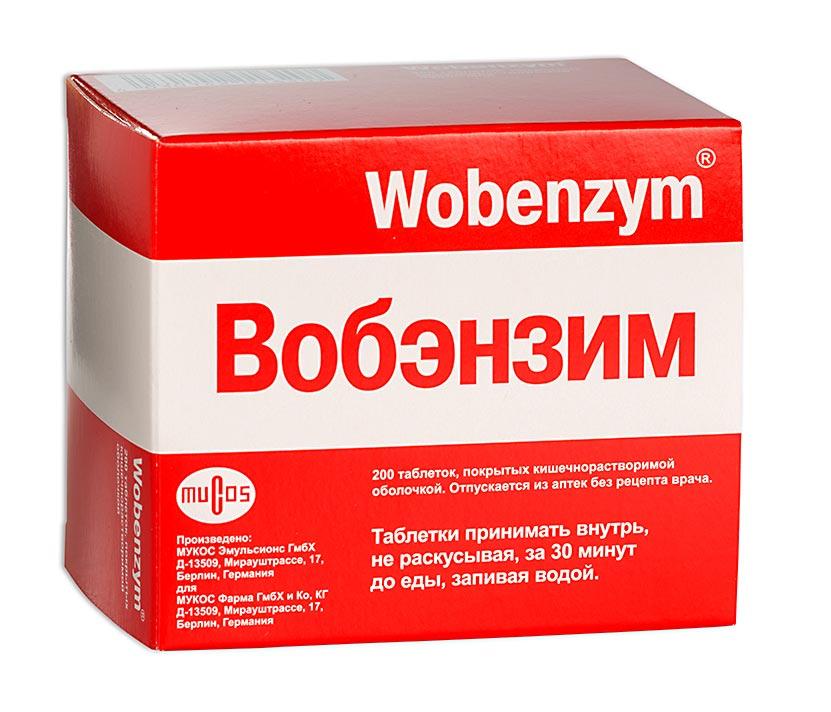 Вобэнзим таб. п.о n200
