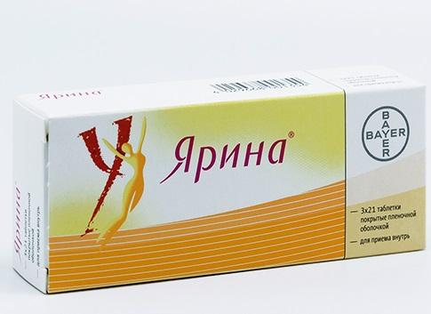 Ярина табл. п.п.о. 3 мг + 0,03 мг №63