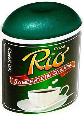 Заменитель сахара рио голд таб. n300