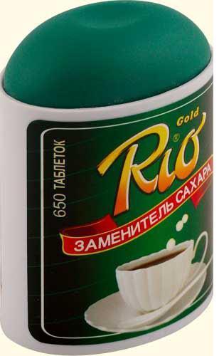 Заменитель сахара рио голд таб. n650