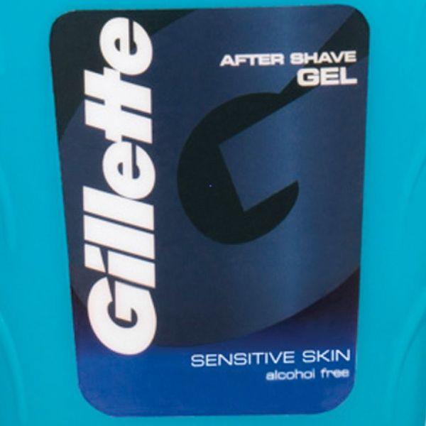 Жиллетт гель после бритья для чувствительной кожи sensitive skin фл. 75мл