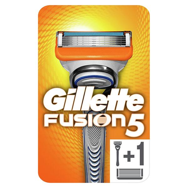 Жиллетт станок бритвенный фьюжен+2 кассеты