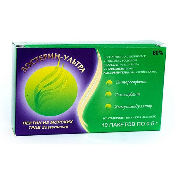 Зостерин -ультра 60 порошок в пакетах 0,5г 10 шт.