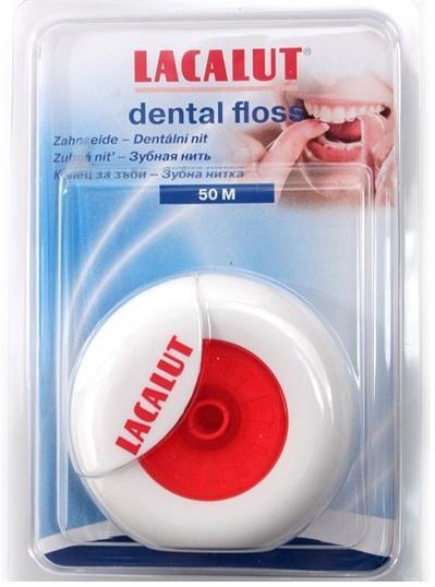 Зубная нить лакалют дентал 50м