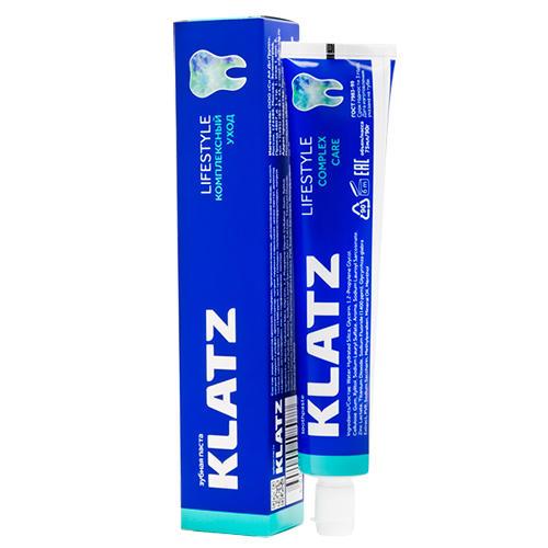 Зубная паста Klatz LIFESTYLE Комплексный уход 75мл Klatz