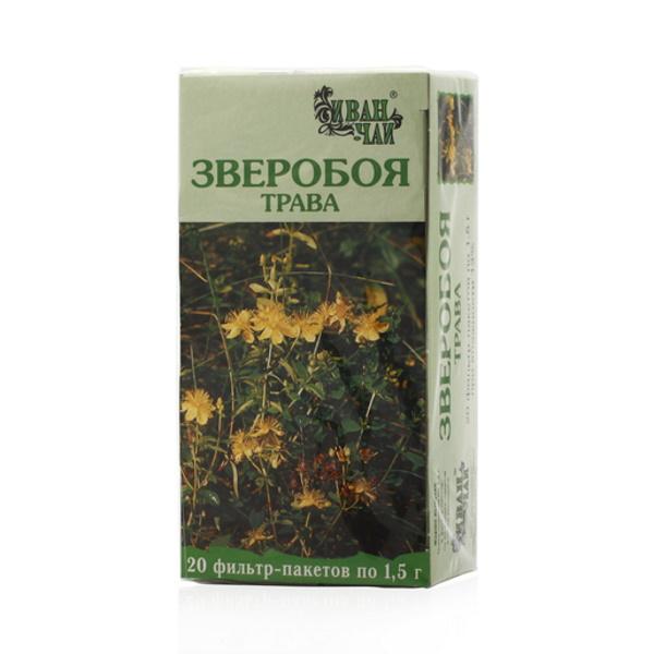 Зверобоя трава порош. ф/п 1,5г №20
